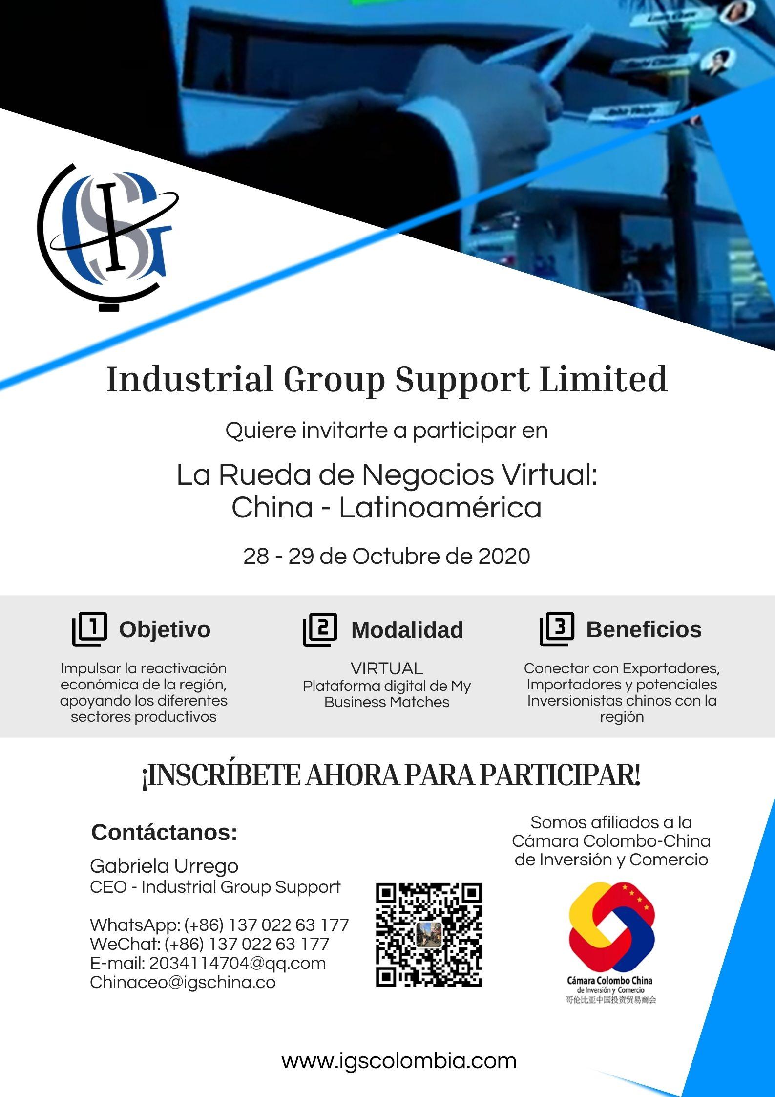 Ruda de negocios virtual China-latinoamérica
